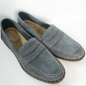 Sperry Top-Sider Seaport Penny Suede Stud 7.5